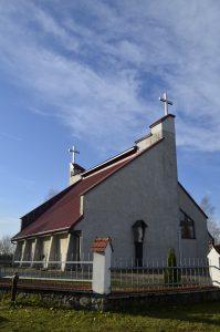 Cisów Las Kościół